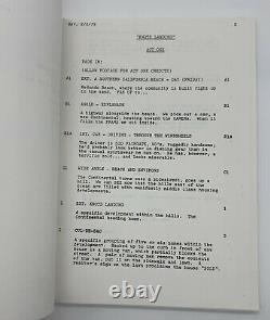 Knots Landing Script Episode 1 Pilot Final Draft 1979 Autographed by Michele Lee