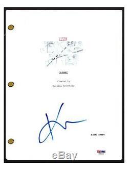 Krysten Ritter Signed Autograph JESSICA JONES Pilot Episode Script PSA/DNA COA