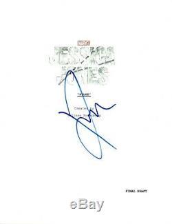 Krysten Ritter Signed Autographed JESSICA JONES Pilot Episode Script COA VD