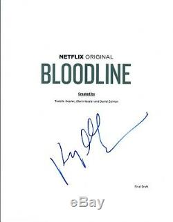Kyle Chandler Signed Autographed BLOODLINE Pilot Episode Script COA VD
