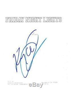 Kyle Chandler Signed Friday Nights Light Pilot Script Authentic Autograph Coa
