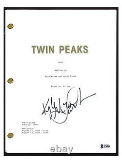 Kyle MacLachlan Signed Autograph TWIN PEAKS Pilot Episode Script Beckett BAS COA