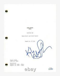 Kyle MacLachlan Signed Autographed TWIN PEAKS Pilot Episode Script ACOA COA
