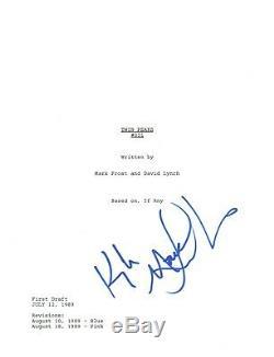 Kyle MacLachlan Signed Autographed TWIN PEAKS Pilot Episode Script COA