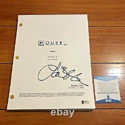 LISA EDELSTEIN SIGNED HOUSE FULL 67 PAGE PILOT SCRIPT with BECKETT BAS COA