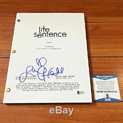 LUCY HALE SIGNED LIFE SENTENCE FULL 61 PAGE PILOT SCRIPT with BECKETT BAS COA
