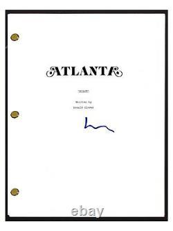 Lakeith Stanfield Signed Autographed Atlanta Pilot Episode Script COA