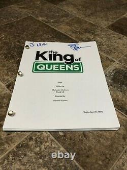 Leah Remini The King Of Queens Signed Autographed Pilot Full Episode Script