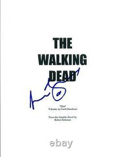 Lennie James Signed Autographed THE WALKING DEAD Pilot Episode Script COA AB