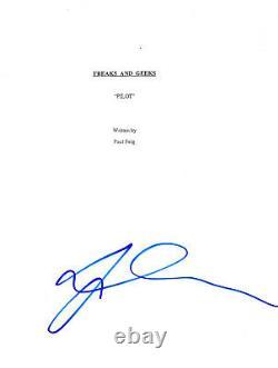 Linda Cardellini Signed Autographed'freaks And Geeks' Pilot Episode Script Coa