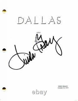 Linda Gray Signed Autograph Dallas 1978 Pilot Script Larry Hagman, Jim Davis