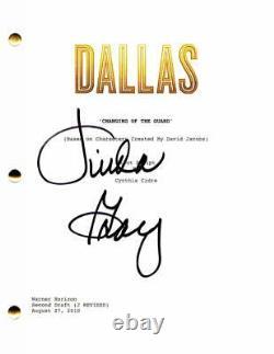 Linda Gray Signed Autograph Dallas 2012 Full Pilot Script Jordana Brewster