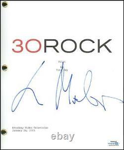 Lorne Michaels 30 Rock Producer AUTOGRAPH Signed Pilot Episode Script ACOA