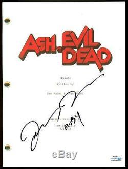 Lucy Lawless Ash vs Evil Dead AUTOGRAPH Signed Full Complete Pilot Script ACOA