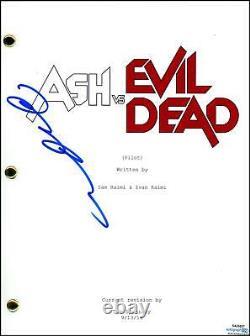 Lucy Lawless Ash vs. Evil Dead AUTOGRAPH Signed Full Pilot Episode Script ACOA