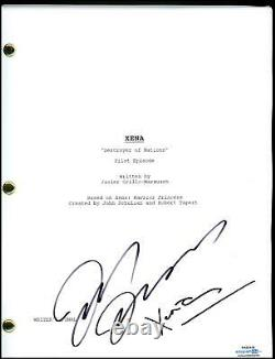Lucy Lawless Xena Destroyer of Nations AUTOGRAPH Signed Pilot Script ACOA