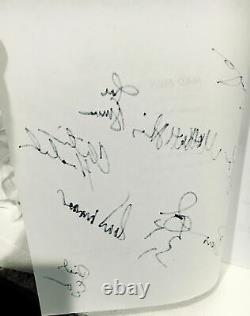 MAD MEN Pilot Script Signed by 10-JON HAMM-JONES-SLATTERY-WEINER-HENDRICKS-MORSE