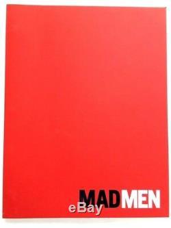 MAD MEN TV Series FYC Signed MATTHEW WEINER Pilot Script Episode Season 1 2007