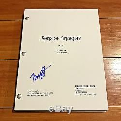 MAGGIE SIFF SIGNED SONS OF ANARCHY FULL 64 PAGE PILOT SCRIPT with EXACT PROOF PICS