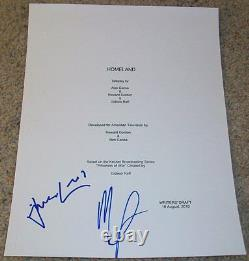 MANDY PATINKIN & DAMIAN LEWIS SIGNED HOMELAND 62 PG PILOT SCRIPT withEXACT PROOF