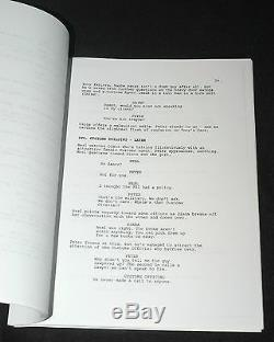 MATT BOMER Hand Signed WHITE COLLAR PILOT SCRIPT Full 80 Pages with PROOF PHOTO