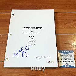 MICHAEL ANGARANO SIGNED THE KNICK FULL 62 PAGE PILOT SCRIPT with BECKETT BAS COA