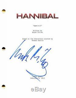 Mads Mikkelsen Signed Autograph Hannibal Full Pilot Script Doctor Strange