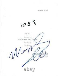 Maggie Grace Signed Autographed LOST Pilot Episode Script COA