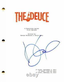 Maggie Gyllenhaal Signed Autograph The Deuce Full Pilot Script James Franco