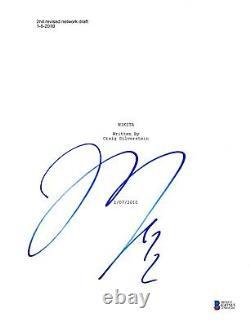 Maggie Q Signed Nikita Pilot Script Beckett Bas Autograph Auto