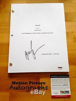 Malin Akerman Signed Billions Full Pilot Script 94 Pages Psa Dna Coa