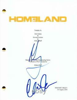 Mandy Patinkin & Claire Danes Cast Signed Autograph Homeland Full Pilot Script