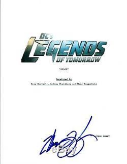 Marc Guggenheim Signed Autograph LEGENDS OF TOMORROW Pilot Script Transcript AB