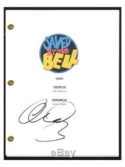 Mario Lopez Signed Autographed SAVED BY THE BELL Pilot Script COA