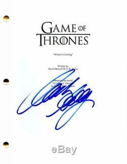 Mark Addy Signed Autograph Game Of Thrones Pilot Script -king Robert Baratheon