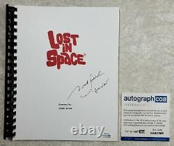 Mark Goddard Don West Signed TV Script Lost in Space Pilot 1965 Episode ACOA