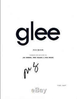 Mark Salling Signed Autographed GLEE Pilot Episode Script COA VD
