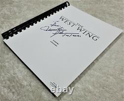 Martin Sheen Signed The West Wing Autograph TV Pilot Script 1999 Episode ACOA