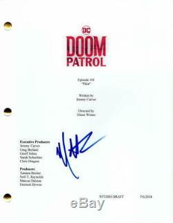 Matt Bomer Signed Autograph Doom Patrol Full Pilot Script Negative Man