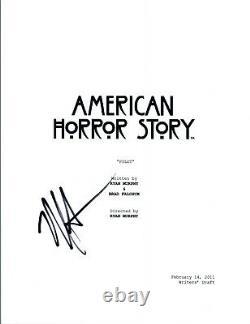 Matt Bomer Signed Autographed AMERICAN HORROR STORY Pilot Episode Script COA VD