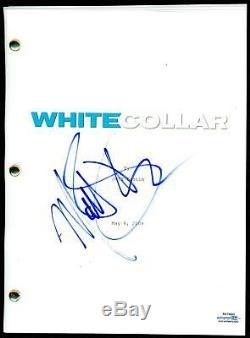 Matt Bomer White Collar AUTOGRAPH Signed Full Complete Pilot TV Script ACOA