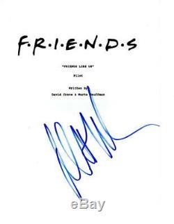 Matt Leblanc Signed Friends Pilot Episode Script Authentic Autograph Coa