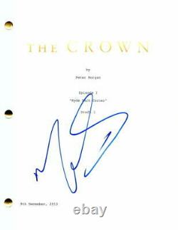 Matt Smith Signed Autograph The Crown Full Pilot Script Prince Phillip Dr Who