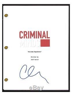 Matthew Gray Gubler Signed Autographed CRIMINAL MINDS Pilot Script COA