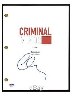 Matthew Gray Gubler Signed Autographed CRIMINAL MINDS Pilot Script PSA/DNA COA