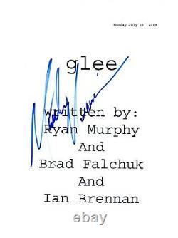 Matthew Morrison Signed Autograph GLEE Pilot Episode Script COA