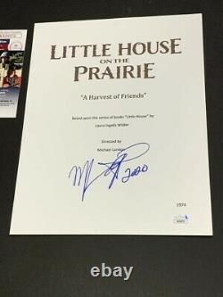 Melissa Gilbert Signed Little House On The Prairie Pilot Script Jsa Coa