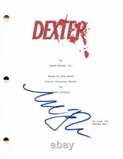 Michael C Hall Signed Autograph Dexter Pilot Script Sexy Stud, Six Feet Under