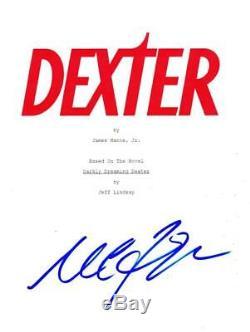 Michael C Hall Signed Dexter Pilot Script Authentic Autograph Coa
