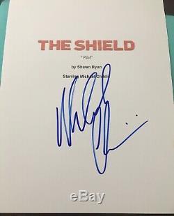 Michael Chiklis Signed Autograph Rare The Shield Pilot Episode Show Script Coa